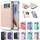 Hybrid Slim Shockproof Heavy Duty Hard Case Cover for Samsung Galaxy S6 /S6 Edge