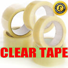 BIG Rolls Of CLEAR STRONG Parcel Tape Packing sellotape Packaging 48mm x 66m