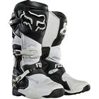 FOX RACING COMP 8 BOOTS (WHITE)