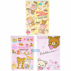 TAI WAN MADE RILAKKUMA 2016 PVC SCHEDULE BOOK 13 X 19 COLOR DIARY RK06724