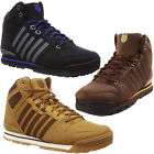 Mens K-Swiss Si-18 Premier Leather Hiker Boot New Iconic Outdoor Walking Trainer