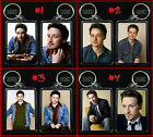 JAMES McAVOY keychain / keyring CHOOSE FROM 4 DESIGNS