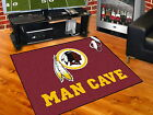 Washington Redskins Man Cave Area Rug Choose from 4 Sizes