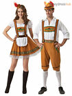 Mens Ladies Oktoberfest Bavarian Fancy Dress Costume Couples German Beer