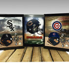 Officially Licensed Chicago Pro Team Quartz Wall Clocks - SHIPS FREE!