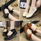 Vintage Ankle Strap Princess Mary Jane Dancing Bowknot Woman Shoes