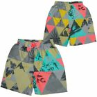 Earthbound Boys Woven Swimwear Kinder Badeshort Grau(86577)