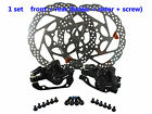 MTB DH Mountain Bicycle bike Mechanical Calipers disc brake rotors 160mm black