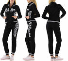 SET SPORT NY OFFICIAL WOMAN BLACK/WHITE : HOODED SWEATER ZIP OR TROUSERS