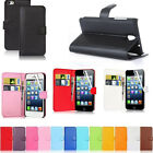 2015 NEW Wallet Flip PU Leather Phone Case Cover For Apple iPhone 4,4S,5,5S,6 6+