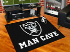 Oakland Raiders Man Cave Area Rugs Choose from 4 Sizes