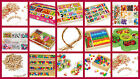 THREADING/JEWELLERY sets kids beads crafts pearls stringing letter chains ABC