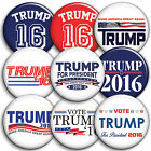 Donald Trump 2016 US Presidential Campaign - Button Badges PinBacks 25mm 1 inch