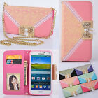 Wallet Card Holder PU Leather Flip Case Cover For Samsung Galaxy S 3 4 5Note 3 4