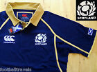 LARGE SCOTLAND CLASSIC HOME RUGBY SHIRT JERSEY CANTERBURY of NEW ZEALAND