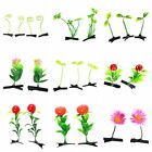 15pcs Funny Cute Grass Leaf Plant Sprout Flower Headwear Hairpins Hair Clip D