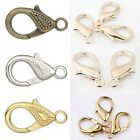Jewelry Findings Lobster Clasps Hooks Silver Rose Gold Bronze 30mm Lead Free