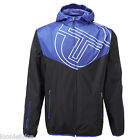 Mens Sergio Tacchini Mens Payton Hooded Jacket Black/Blue
