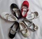 NEW Little Angels Kelly767 PAGEANT WEDDING Patent Leather Rhinestone Strap Shoes