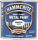 Hammerite Smooth Direct to Rust Metal Paint - Various Colours - 750ml