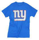 New York Giants NFL Football Men's Primary Logo T-Shirt Top Tee, Royal Blue