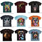 The Mountain Unisex Adult T Shirt Animal Themed plus NEW Dean Russo Designs