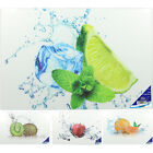Kitchen Design Printed Glass Cutting Chopping Board