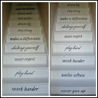 LARGE STAIRS IN THIS HOUSE RULES NEVER GIVE UP  PLAY HARD STICKER TRANSFER DECAL