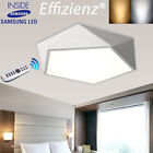 25W Modern Pentagon LED Ceiling Light Living Dining Bedroom White/Warm/Dimmable