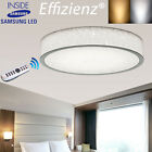 Modern Carving LED Ceiling Light Living Dining Bedroom White/Warm/Dimmable Adjus
