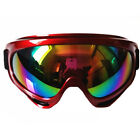 Eight Snow Ski Snowboard Goggles Anti-Fog Colored Lens Adult Driving Motorcycle