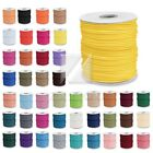 45 Colours Korea Waxed Cotton Cord Wire Thread String DIY Making 40m/80m/170m