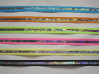 """5 yards of Razzle 1/2"""" & 5/8"""" Wide Offray Grosgrain Ribbon - 6 Assorted Colors"""