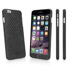 BoxWave Genuine Carbon Fiber Backed Thin Lightweight Snap On Case - Apple iPhone