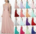 New Design Chiffon Cap Sleeve Long Formal Party Bridesmaid Dresses Formal Dresse