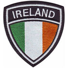 IRELAND CREST FLAG EMBROIDERED  PATCH