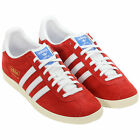 ADIDAS ORIGINALS GAZELLE OG MENS SUEDE TRAINERS SNEAKERS RED
