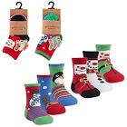 Baby And Toddler Novelty Christmas Socks Pack Of 3 From New Born