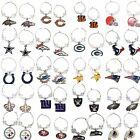 NFL Licensed Clear Bead Hoop Dangle Earrings - Pick Your Team on eBay