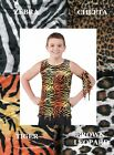 Welcome To The Jungle Guys Animal Print Tank Top/Arm Tie Dance Costume USA