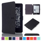 lights for kindle - Luxury Leather Flip Magnetic Smart Wake Case For Amazon Kindle Paperwhite 1 2 3