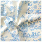 PETIT FRENCH TOILE - Blue - 100% COTTON EX WIDE 160CM OEKO TEX CERTIFICATED