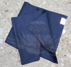 NEW BRITISH MOD POLICE SURPLUS ISSUE COLD WEATHER BLUE WOOL SCARF 120cm x 26cm