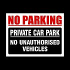 No Parking Plastic Sign, Sticker, Metal - Clamping, Private, Driveway, Disabled <br/> Choose from different Sizes & Materials