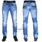 TRUE PEVIANI G JEANS, HIP HOP RIP TIME IS MONEY MENS STAR DENIM STRAIGHT OXFORD