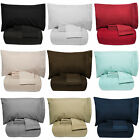 Luxury 5 Piece Bed In A Bag Down Alternative Comforter  Sheet Set 12 Colors