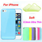 Ultra Thin Slim 0.3mm Matte Hard Back Case Cover Skin For iPhone5C 5S 6 6S Plus