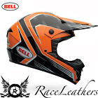 BELL 2016 SX-1 RACE BLACK GREY ORANGE MX MOTOCROSS MOTORBIKE MOTO-X HELMET