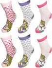 Disney Princess Girls 6 pack Socks