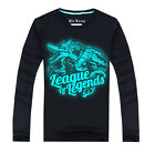 Made For LOL Butcher of the Sands Renekton Long sleeve t-shirt Cosplay Unisex